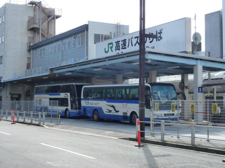 The bus to DisneySea