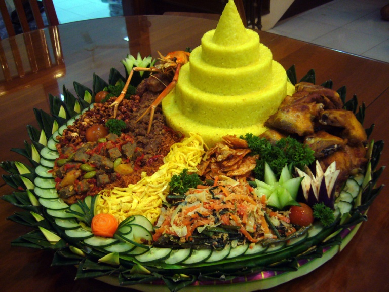 The Tumpeng