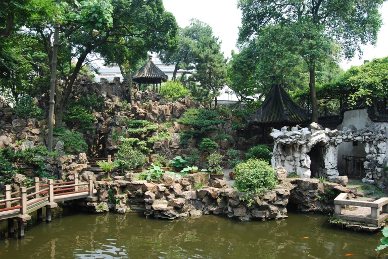 The famous Grand Rockery