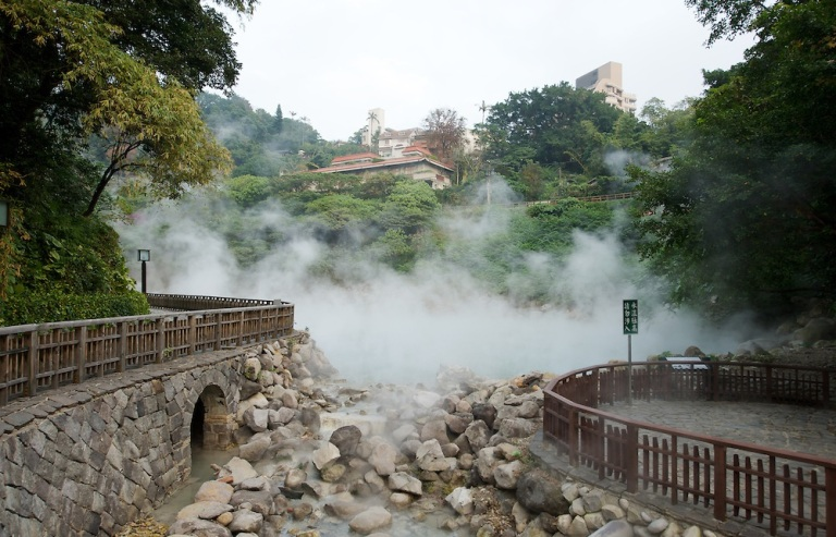 The Thermal Valley at Beitou