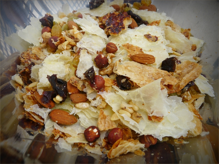Um Ali - a Qatari dessert