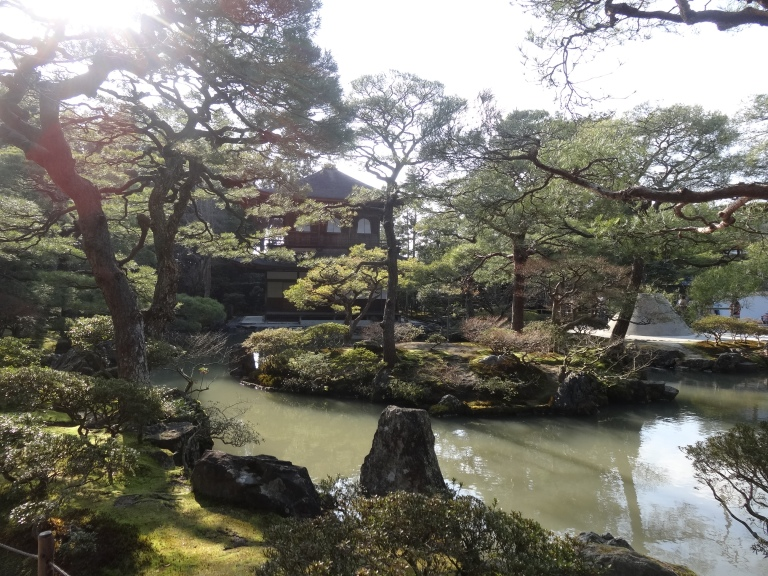 Amazing scenery here at Ginkakuji