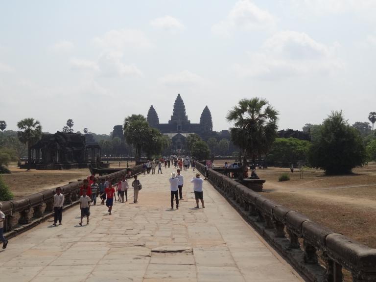 Angkor Wat clear
