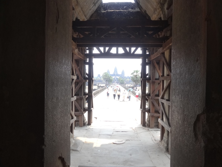 Angkor Wat first sight
