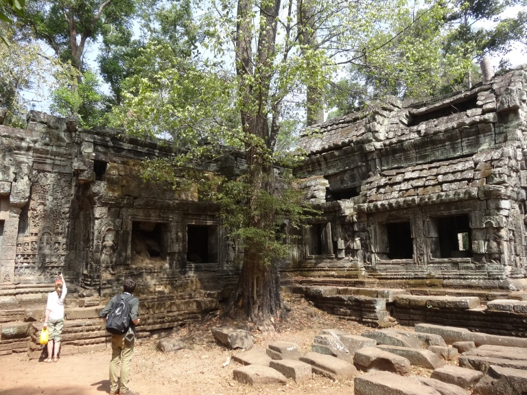 Ta Prohm has a lot of history