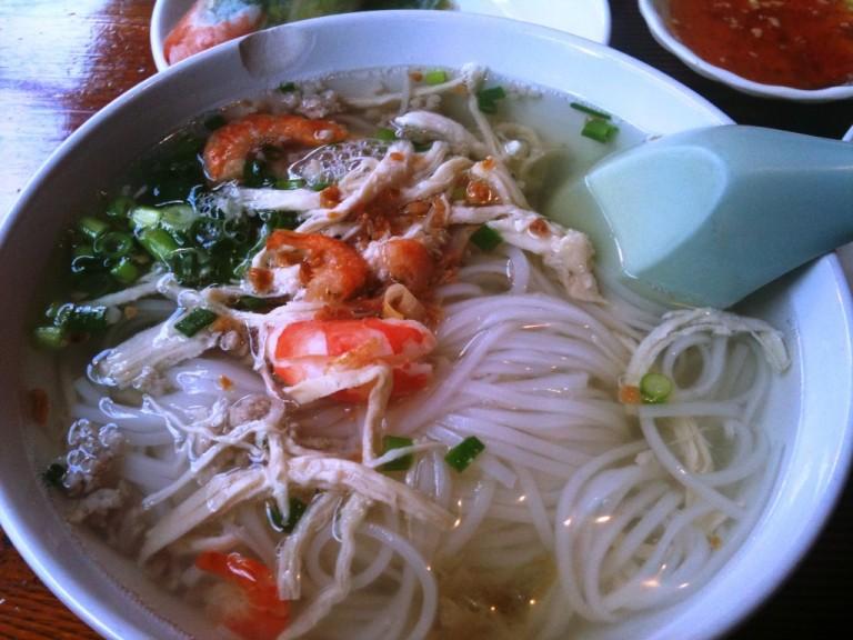 Nom Banh Chrouk (Khmer Noodles)