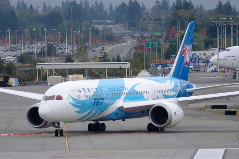 China Southern 787 Dreamliner would be a safe bet