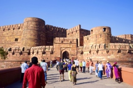 Agra Fort is a must-see!