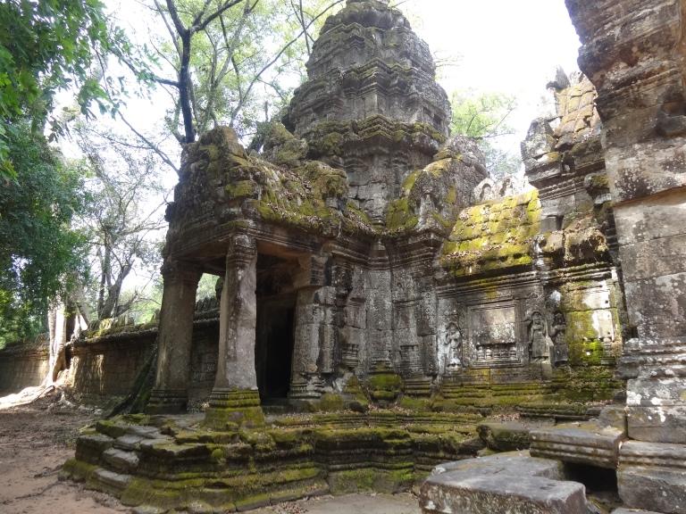 Impressive ruins