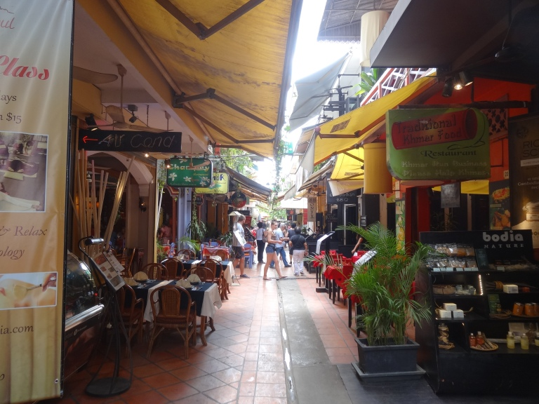 Pub Street is the backpacking mecca of Siem Reap!