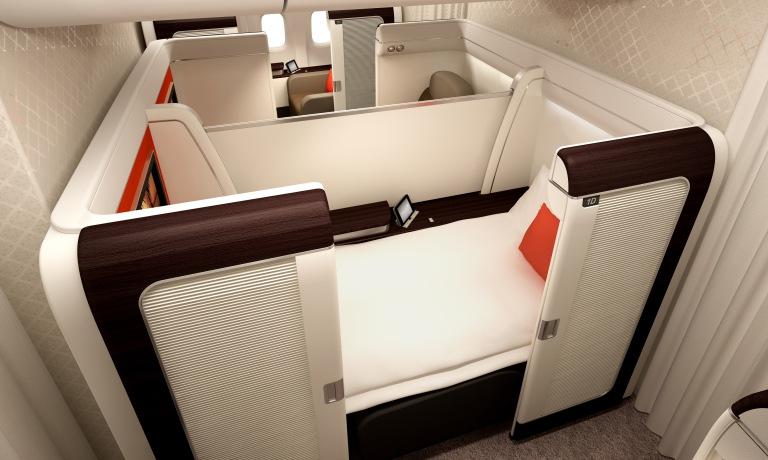 Garuda's new first class onboard their B777s