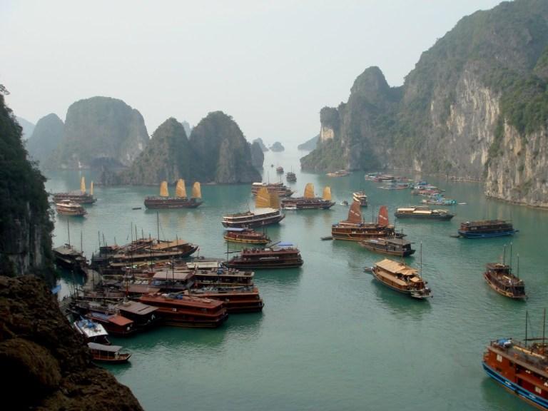 Halong Bay - what an incredible sight!