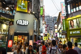 Myeongdong is CRAZY!
