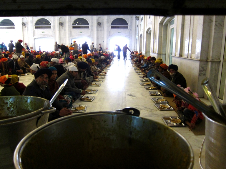 Inside The Langar Hall
