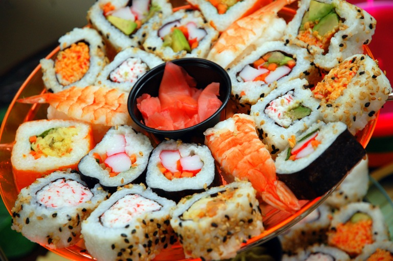 Sushi is the mainstay of Japanese cuisine