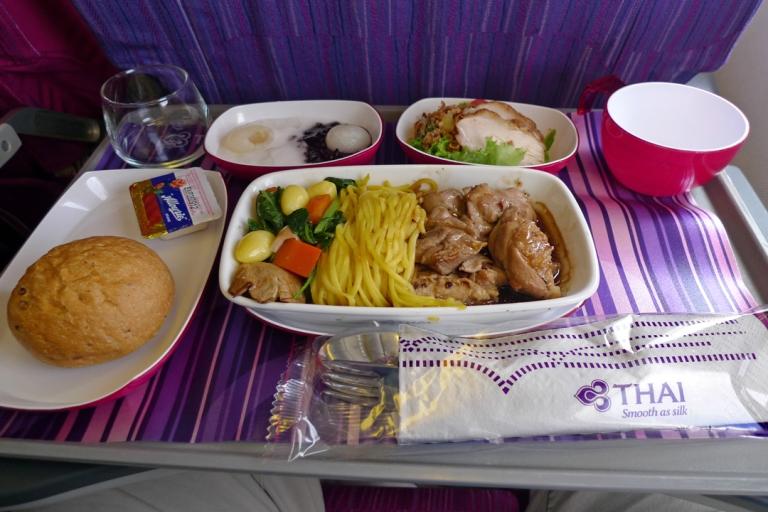 Thai economy class lunch