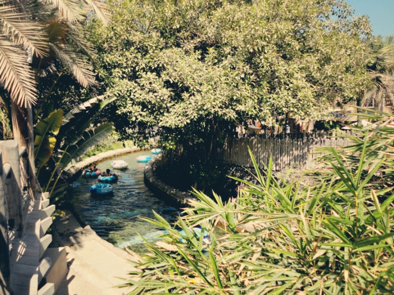 Wild Wadi's amazing lazy river is perfect for the family!