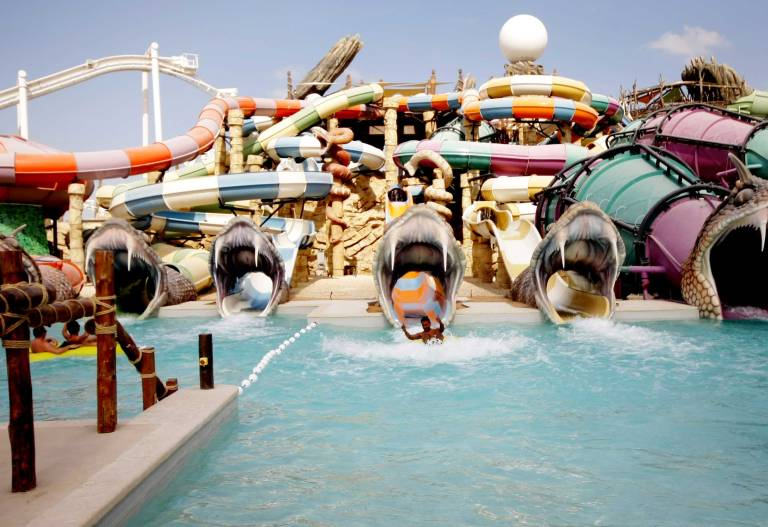 Best waterpark in the United Arab Emirates!