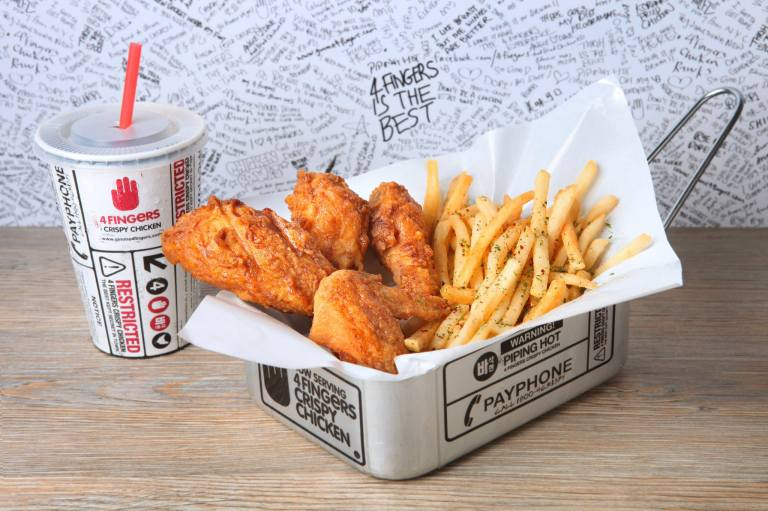 4 Fingers Crispy Chicken is the best fast food brand in Singapore!
