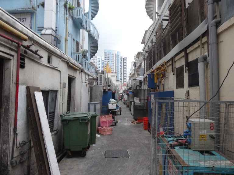 A typical Little India backstreet