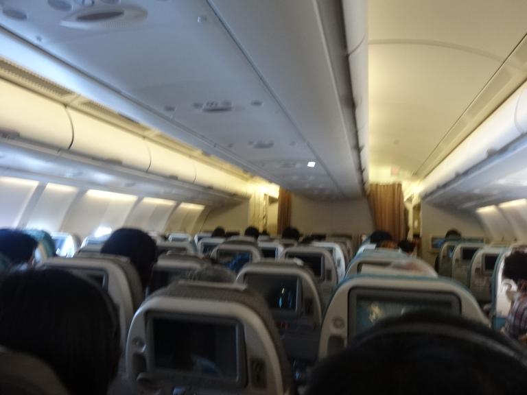 Flying from Singapore to Osaka