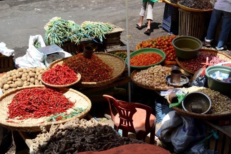 A market in Makassar, Sulawesi