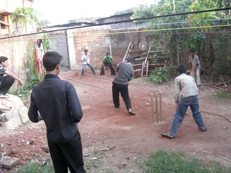Make sure you try to ply some cricket with the locals