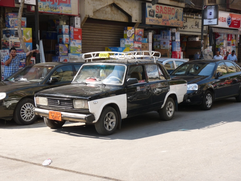An Egyptian taxi