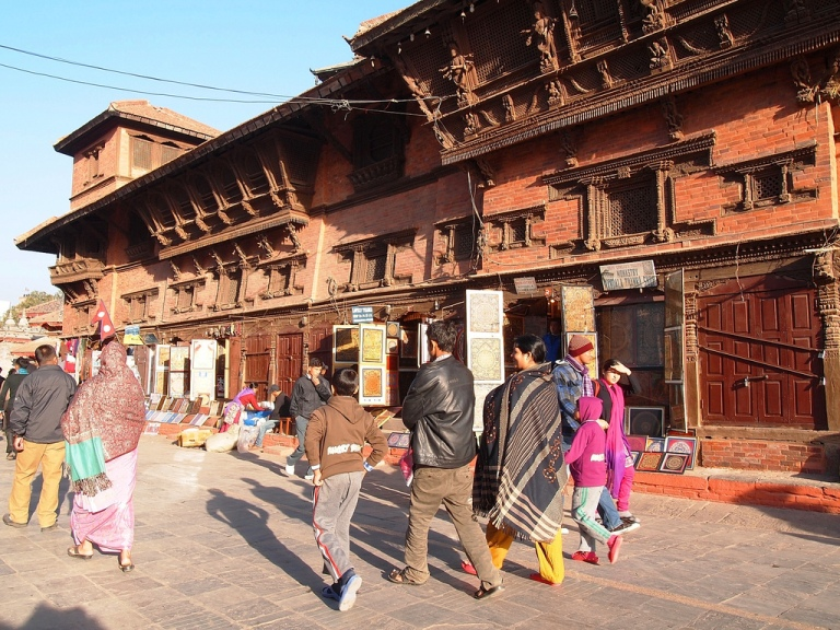 Nepali culture and custom Kathmandu's Durbar Square