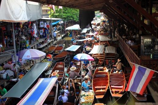 Damnoen Saduak in Bangkok