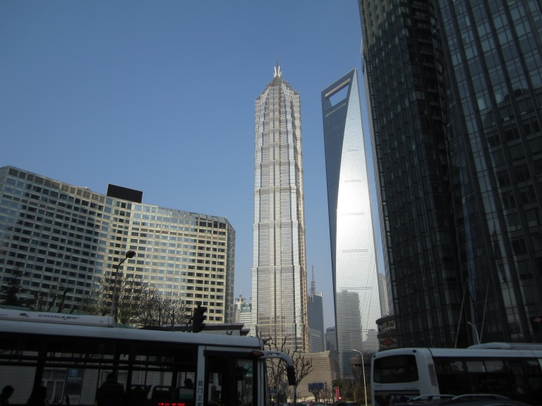 Some of Shanghai's Pudong skyscrapers