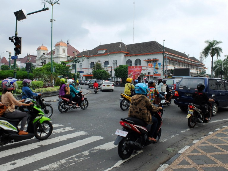 Downtown Jogja