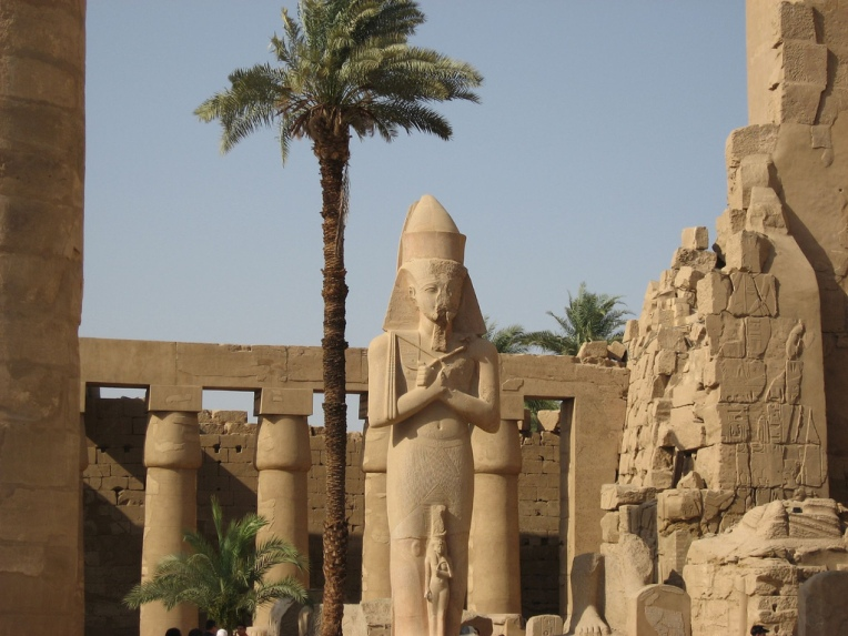 Karnak Temple is the largest temple complex on Earth