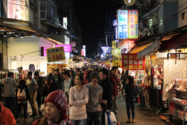 Shilin Night Market is always busy!