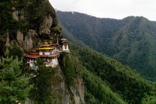 Buddhism in the mountains of Bhutan