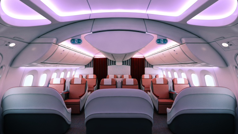 First Class on the LAN B787