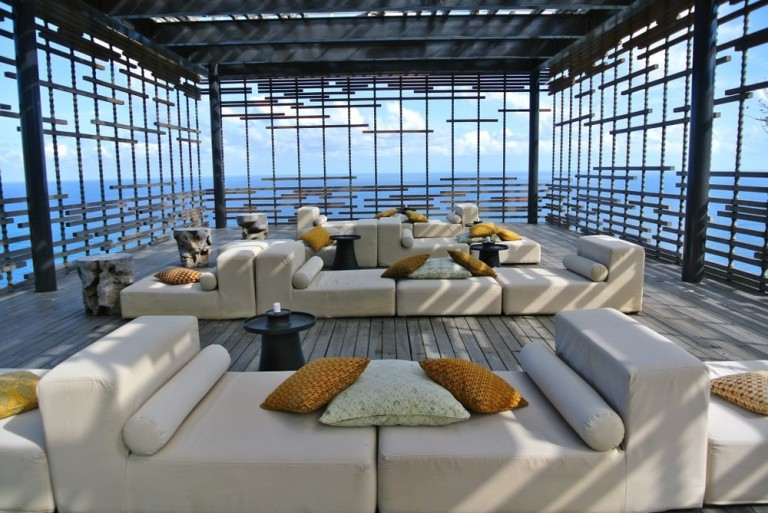 Amazing lounge areas in the grounds of Alila Uluwatu!