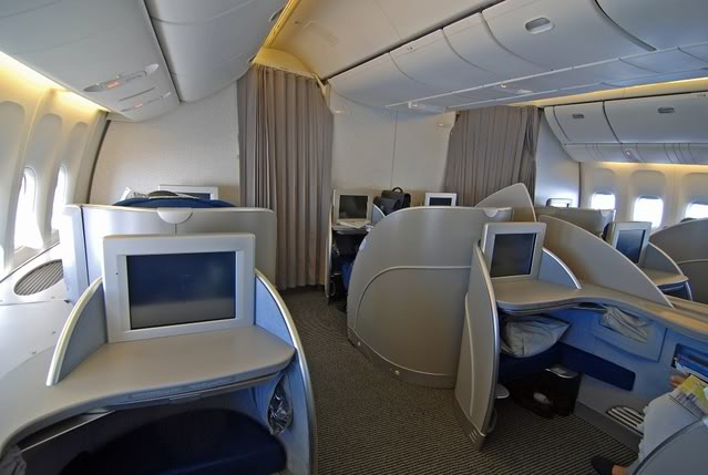 First class on ANA