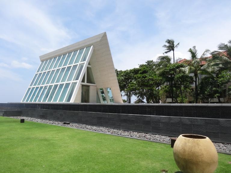 Conrad Bali's famous wedding chapel!