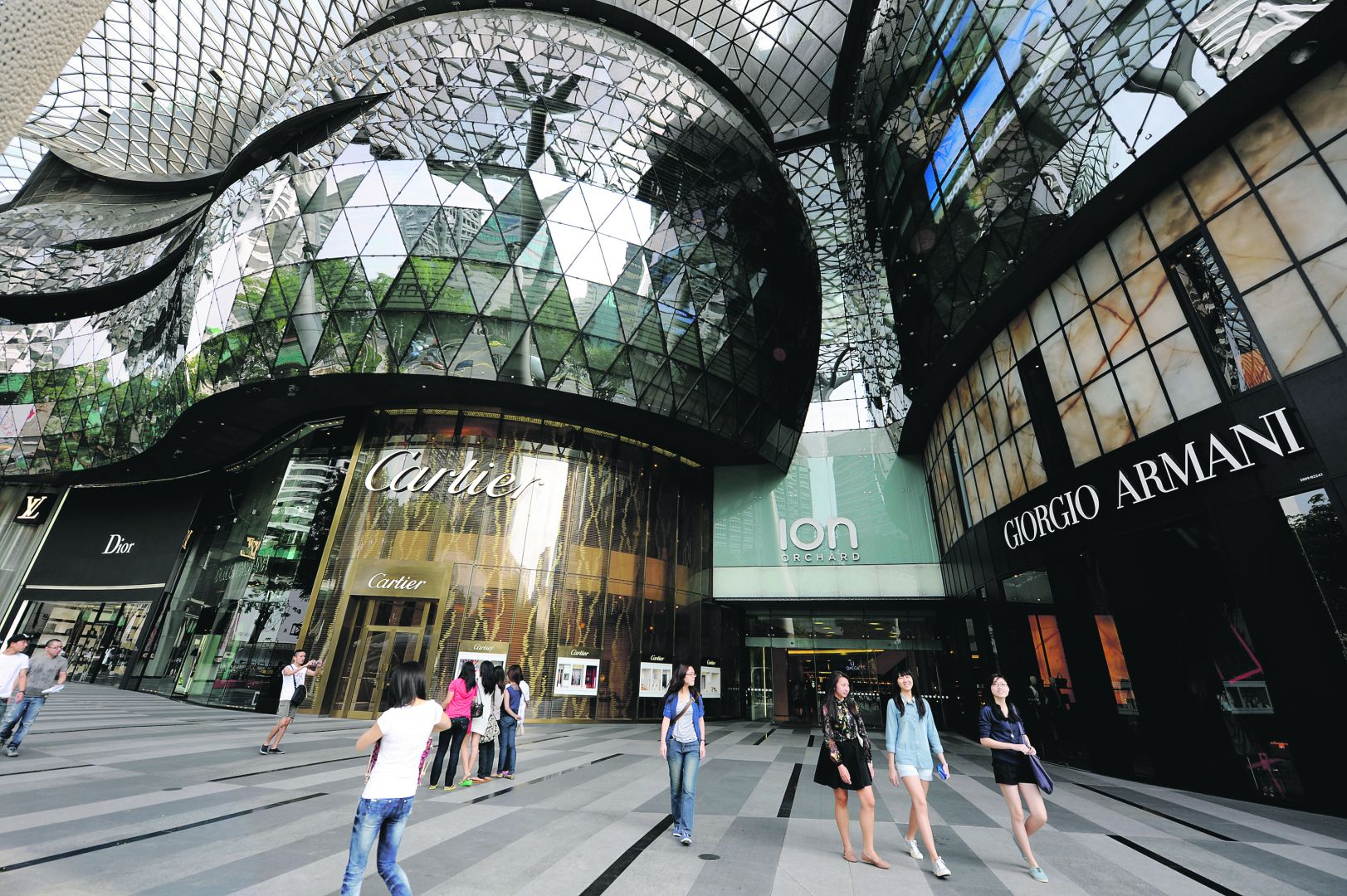 Top 5 shopping malls in singapore backpackerlee for Top ten boutiques