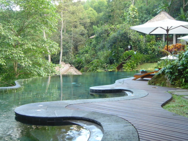 A great place to Lounge around at Maya Ubud