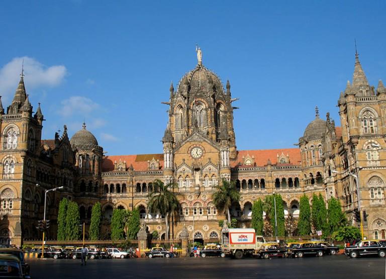 Mumbai Railway Terminus, built in Victorian architecture