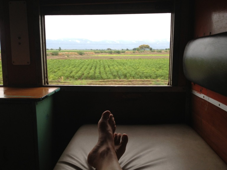Whatever you do, spend the extra Kyat (or $) for a first class sleeper on the overnight train
