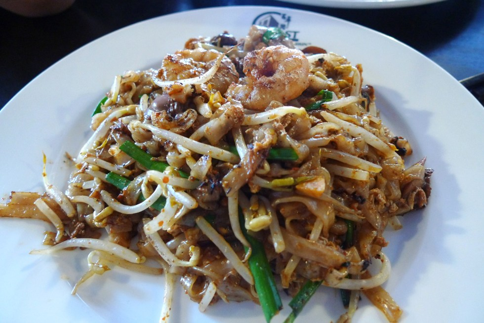 Char Kuey Teow is popular in Malaysia and Singapore