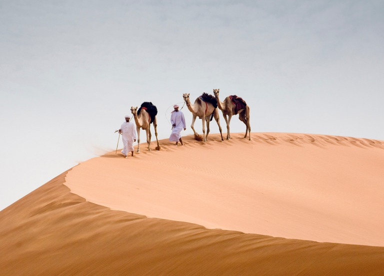 Local Emiratis can still enjoy life in Abu Dhabi vast desert