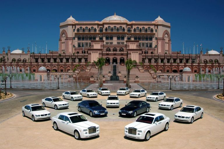 Emirates Palace in Abu Dhabi - the epitome of luxury