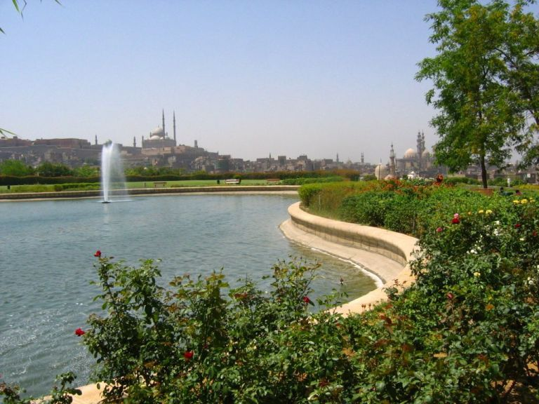 Al Azhar Park is a great getaway from the depths of downtown Cairo