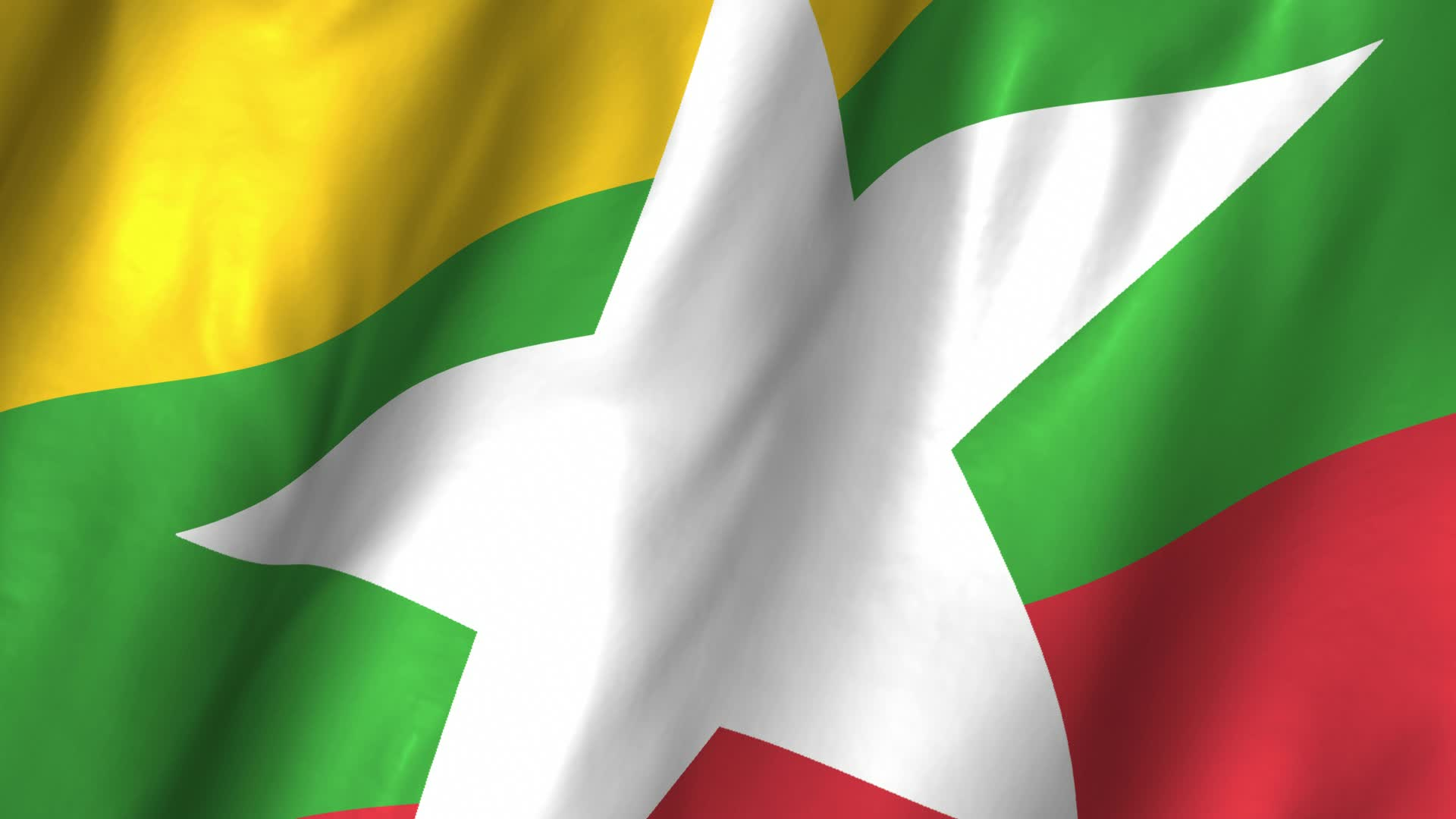 Burmese Flag Image