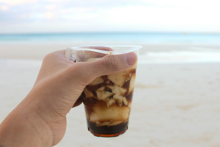 Taho is my favourite Filipino drink