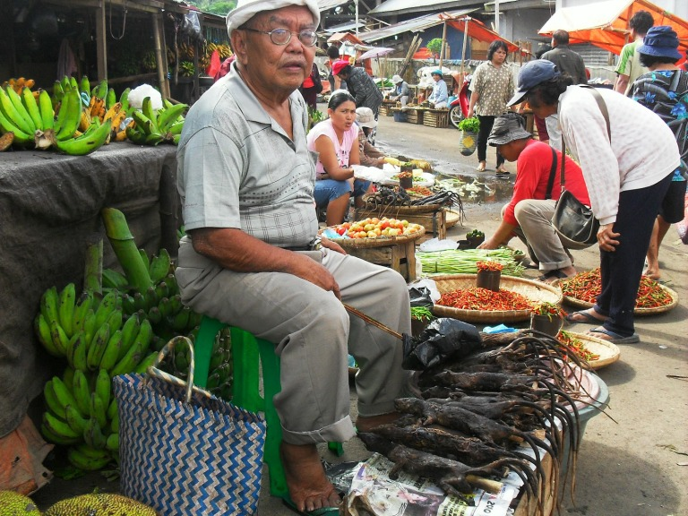Life in the markets of Tomohon